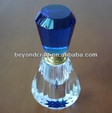 princess crystal perfume bottle, crystal bottle gift