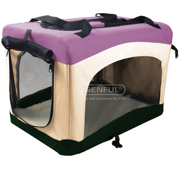 Pet Transport Box Dog Crate Can Be Foldable