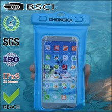 waterproof phone case water proof bag mobile waterproof case with wide neck strap and carabiner