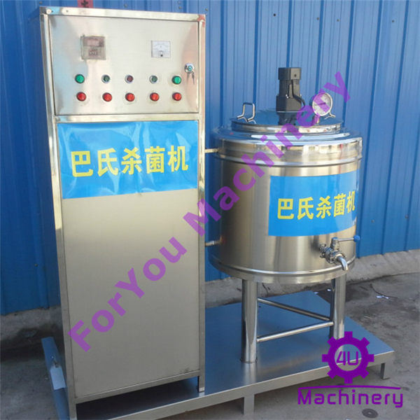 Mini water refrigeration milk pasteurizer