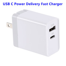 Quick Fast Charger PD QC 3.0 USB-C 30W Wall Charger Smart Fast QC3.0 Adapter