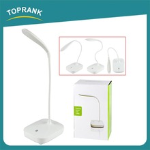 Fashion smart ultra bright flexible arm folding led desk lamp