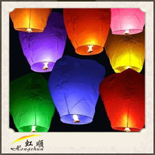 Chinese Sky Fly Fire Lanterns Wish Party Wedding Birthday Multi Color
