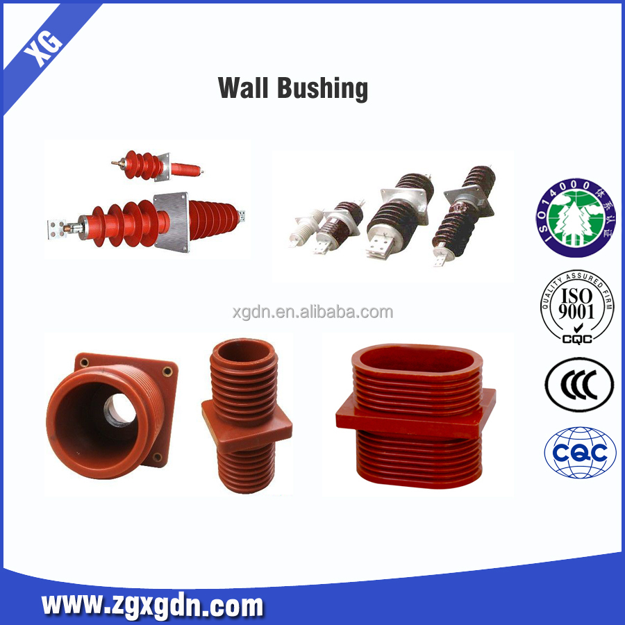 Outdoor FCGW-35 /630A-2000A Composite Wall Bushing/Insulator