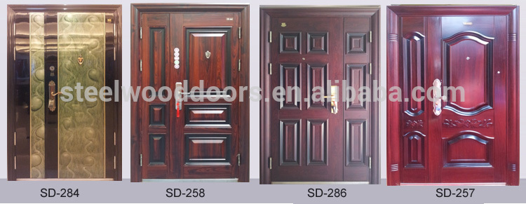 Sun city good quality new design steel metal doors
