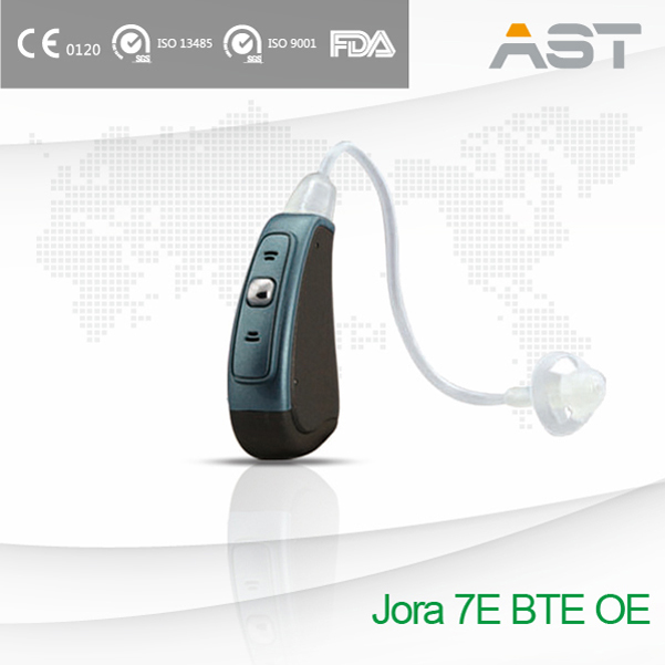 Jora 7E Fully Digital Hearing Aids BTE OE fits most patients