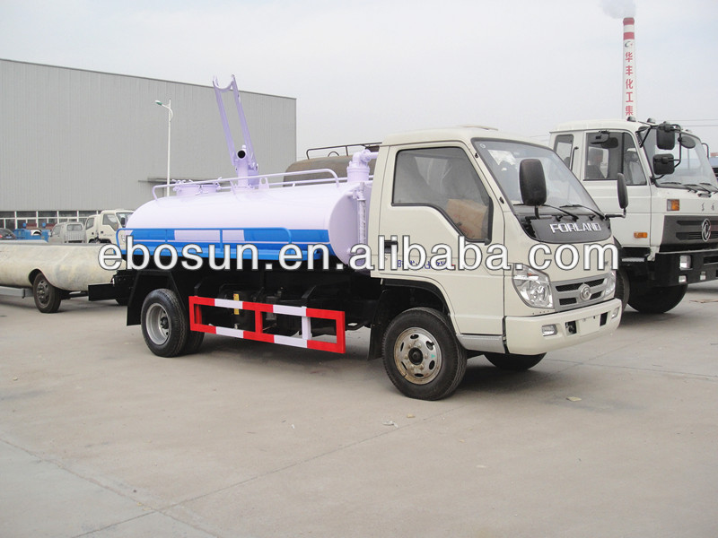 China supplier drain cleaner truck
