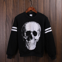 Cotton Material black hip hop hoodie sweatshirt fleece pullovers 100% cotton hoodies printing for men