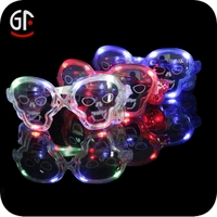 Crazy Custom Party Skull Flashing Sunglasses For Halloween Decoration