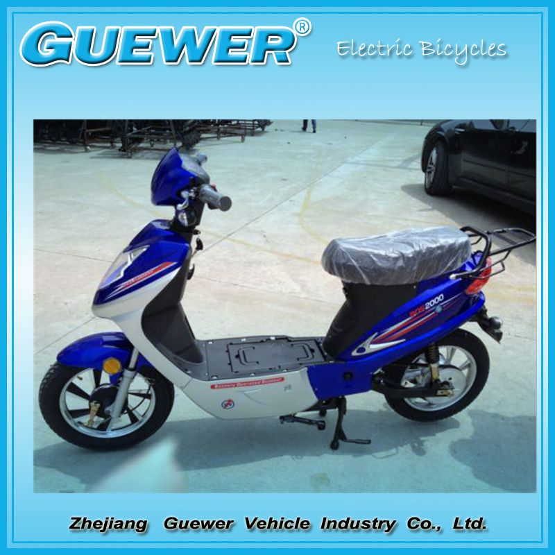 GUEWER EEC certificated electric scooters central motor new design hot selling