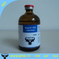 Buy Veterinary medicine Baytril injection 10% for cattle and sheep ...