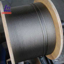 16mm 7*19 Electro Galvanzied Steel Wire Rope