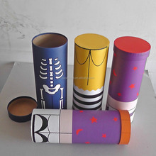 custom printing High - grade printing patterns colorful portable clothes clothing underwear paper tube