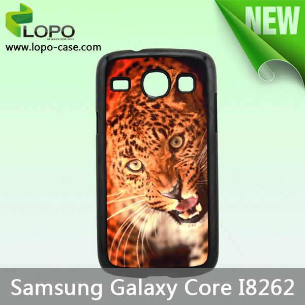 New Blank Sublimation hard plastic case for Samsung galaxy core I8262