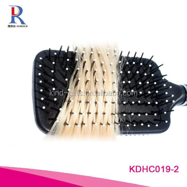 Touch Cushion Paddle Diamond Hair Brush