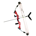 Junxing archery red shooting target compound bow china wholesale archery