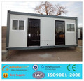 20ft or 40ft container house with Galvanized Steel frame
