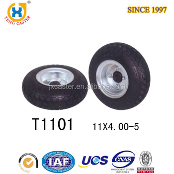 Hot selling 11 inch flat free pu foam filled tires