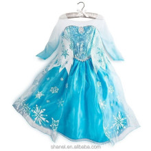 Costume hot elsa dress cosplay costume in frozen from guangzhou
