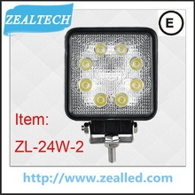 24W led light work unbreakabe glass used auto for sale