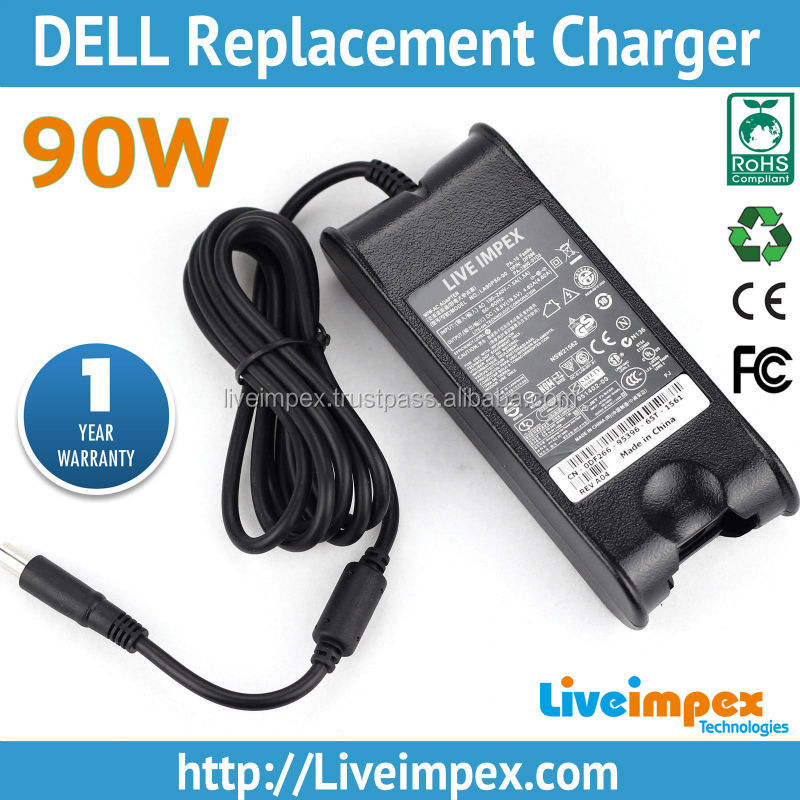 90W OEM High Quality DELL Power AC Charger for Dell inspiron and Lattitude Series Laptops