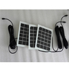 2w small frameless solar panel poly crystalline with glass