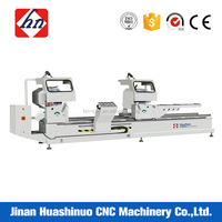 Double head aluminium profile cutting machines with 45 degree