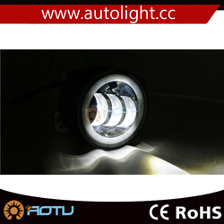 jeep wrangler fog lamp light led 30w 4 inch led drl fog light