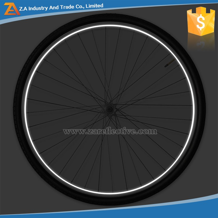 Glow In The Dark Colorful Fluorescent Reflective Wheel Rims Bicycle Sticker Tape For Car/Bicycle/Motorcycle/Cycling/Bike