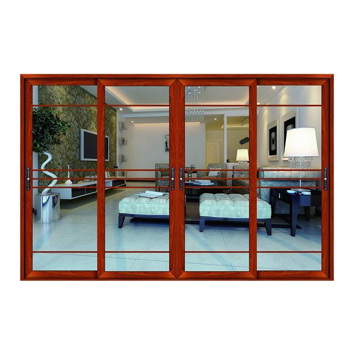 Affordable Price New Pattern Standard Sliding Glass Door