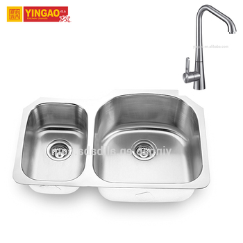 High Quality Home Use Equipment OEM Inox Fiber Brushed Italian Kitchen Sink