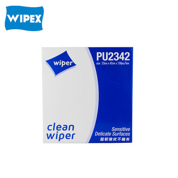 Nonwoven polyester cleaningwipe for industrial stencil clean wiper
