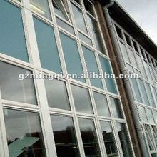 aluminum frame glass curtain wall operable window
