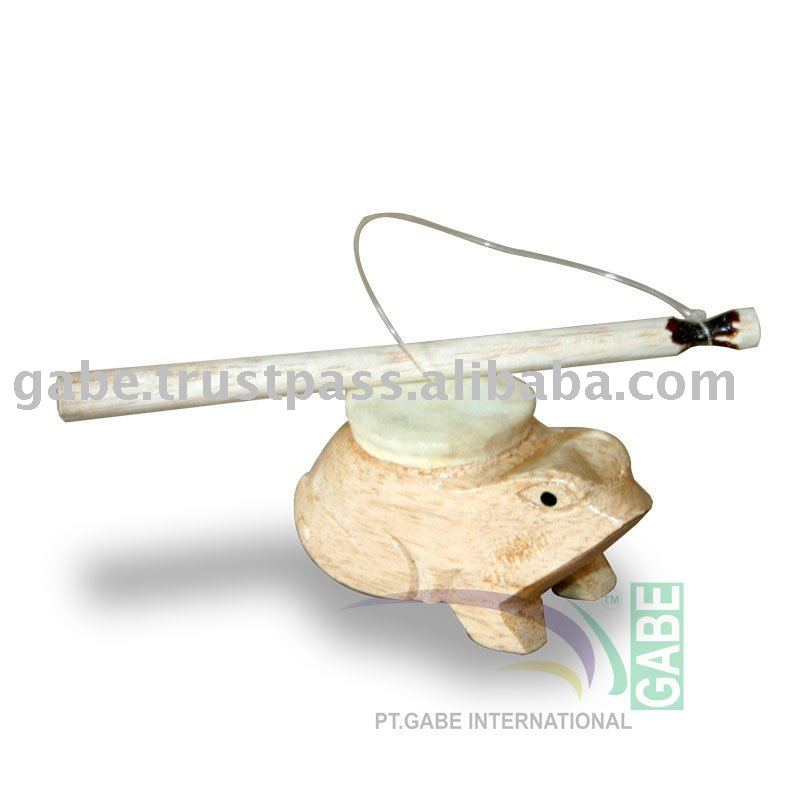 WOOD FROG TOYS