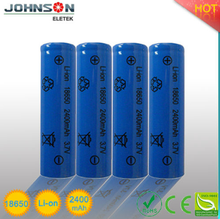 2015 hot sale 18650 battery,3.7v rechargeable battery,rechargeable battery 3.7v 1200ma