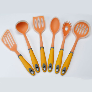 China Supplier nylon and silicone soup ladle for custom