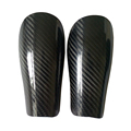 Invisible Feel protection Lightweight 100% full Carbon Fiber Shell hockey shin guard