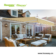 Automatic small retractable canopy and prefab metal rain awning for sale