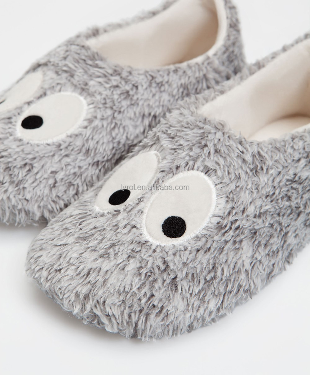 cute fashion look wholesole slippers for women warm winter house home shoes lady woman slipper shoe