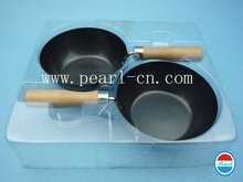 Free sample Frying pans enfant tableware Mini non-stick dry fry pan