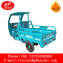 Best Selling Three Wheel Electric Motor Tricycle With Cabin Cargo Use Truck For Sale