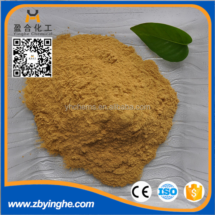TDS MSDS COA Calcium Lignosulfonate for construction drilling mud thinner agent