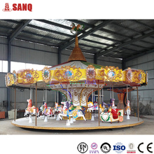 Amusement park antique carousel horses for sale