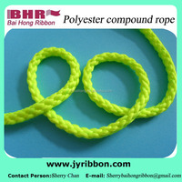Glass green color compound polyester rope for clothes