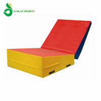 kids gymnastic soft play Incline wedge Kids tumbling mat