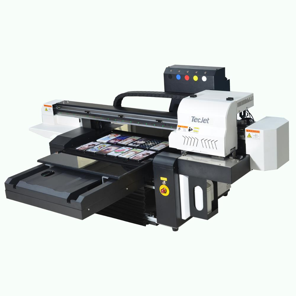 TECJET Dx5, DX7,XP600 printhead 6090 uv flatbed <strong>printer</strong> 3d effect glass printing machine