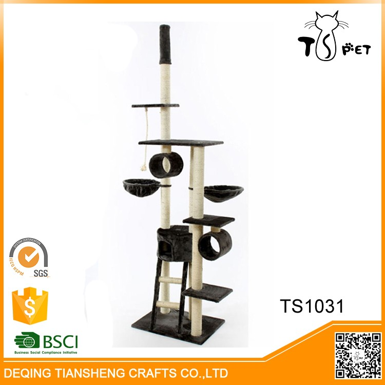 Pet Toys Type and Eco-Friendly Feature Tree Cat Tree