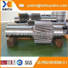High grade customized forging hex shaft with TUV/BV certificate