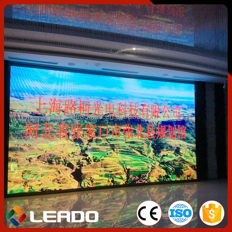 Long service life top sell ph6 full color indoor led display screen