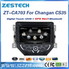 ZESTECH car sat navi head unit for Changan CS35 autoradio 2 din dvd gps